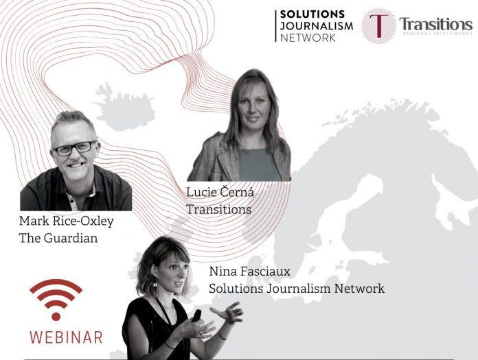 Solutions Journalism Network Transitions Online webinar