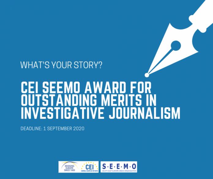 CEI SEEMO Award 2020